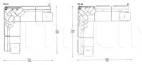 Модульный диван Plan line IL Loft