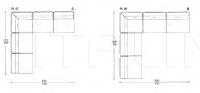 Модульный диван Plan IL Loft