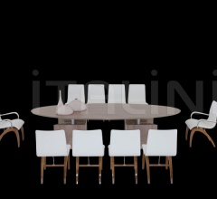 Стол обеденный Accademia фабрика IL Loft