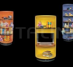 Книжный стеллаж Cilindri фабрика IL Loft