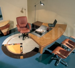 Письменный стол Ruthy Scrivania Curva фабрика IL Loft