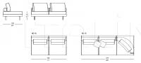 Модульный диван Action IL Loft