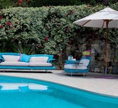 Итальянские диваны - Модульный диван Super Roy Outdoor фабрика IL Loft