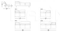 Модульный диван Park IL Loft