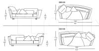 Модульный диван Deha IL Loft
