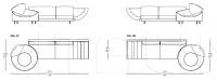 Модульный диван Palace IL Loft