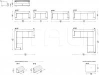 Модульный диван Alexis IL Loft