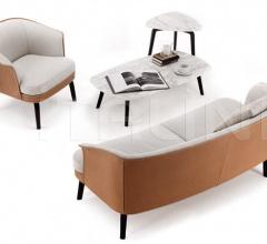 Двухместный диван Nivola фабрика Poltrona Frau