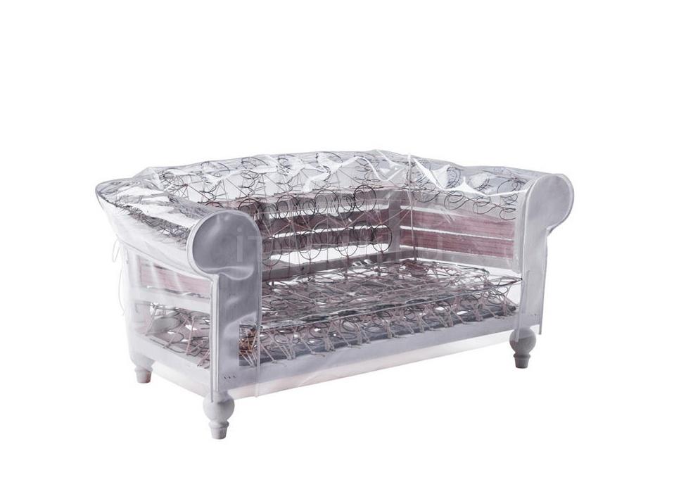 Двухместный диван Ghostfield Poltrona Frau