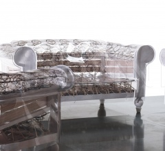 Двухместный диван Ghostfield фабрика Poltrona Frau