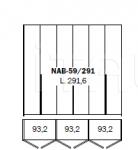 Шкаф BOX NAB-59/291 Ego Zeroventiquattro
