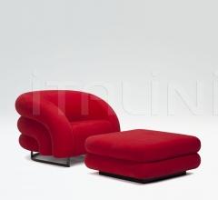 Кресло+пуф Baloon фабрика Armani Casa