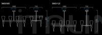 Подвесной светильник Modigliani Barovier&Toso
