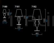 Настольный светильник Ran Barovier&Toso