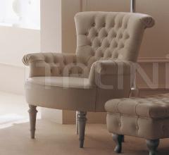 Кресло REGINA 404 ivory leather фабрика Giusti Portos