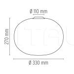 Потолочный светильник Glo-Ball C1 Flos