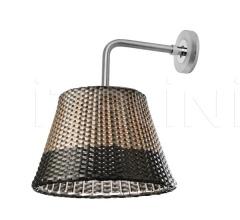 Итальянские настенные светильники - Настенный светильник Romeo outdoor W1 фабрика Flos