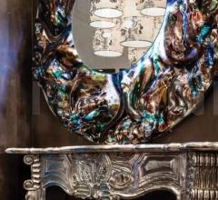 Настенное зеркало Pegaso фабрика Mantellassi 1926