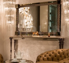 Настенное зеркало J'adore фабрика Mantellassi 1926