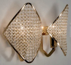 Настенный светильник Holly H06G8 фабрика Patrizia Garganti (Baga)