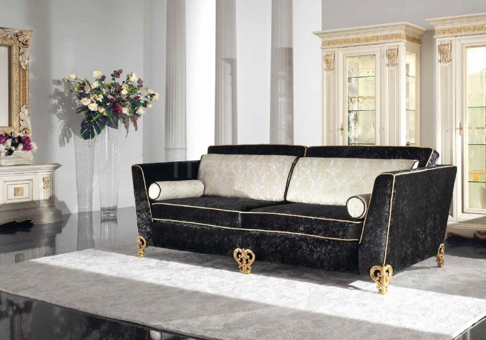 Трехместный диван 1879/L3 black Bakokko
