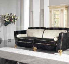 Трехместный диван 1879/L3 black фабрика Bakokko