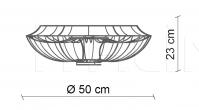 Потолочный светильник Nana PG404 Patrizia Garganti (Baga)