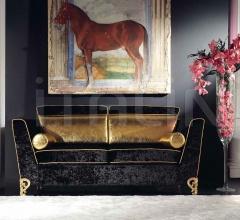 Двухместный диван 1879/L2 black фабрика Bakokko