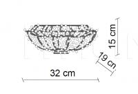 Потолочный светильник Nana PG432 Patrizia Garganti (Baga)