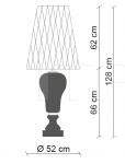 Настольный светильник Ginger E Fred PG527 Patrizia Garganti (Baga)