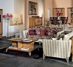 Двухместный диван 1879/L2 beige фабрика Bakokko