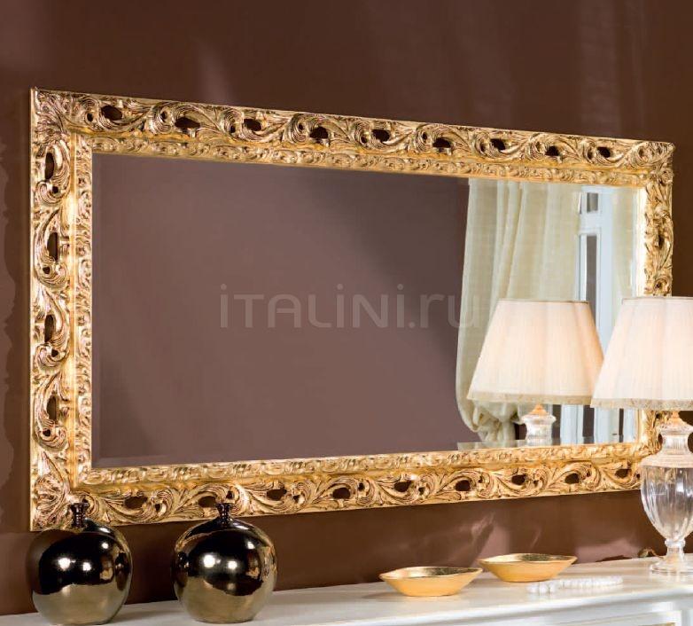 Настенное зеркало F125/L gold Bakokko
