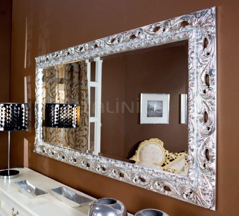 Настенное зеркало F125/L silver Bakokko