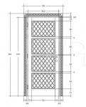 Дверь DR302SW/4B Bakokko