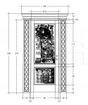 Дверь DR300V2/2D Bakokko