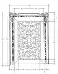 Дверь 4025AB ivory Bakokko