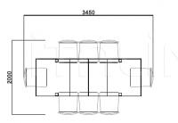 Раздвижной стол E3181 Selva