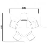 Раздвижной стол 3308 Selva