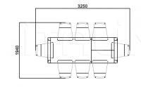 Раздвижной стол Laura 3282 Selva