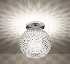 Потолочный светильник D82 Diamond Swirl фабрика Fabbian