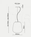 Потолочный светильник  F07 Lumi - Baka Fabbian