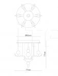Подвесной светильник F10 Spirito di Venezia Fabbian