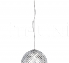 Подвесной светильник D82 Diamond & Swirl фабрика Fabbian