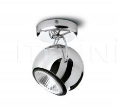 Настенный светильник D57 Beluga Steel фабрика Fabbian