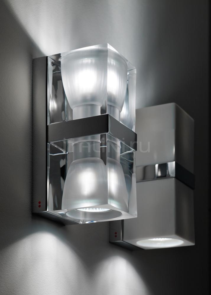 Настенный светильник D28 Cubetto D01/D02 Fabbian