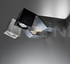 Настенный светильник D28 Cubetto D03 фабрика Fabbian