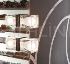 Настенный светильник D28 Cubetto G01/G02 фабрика Fabbian