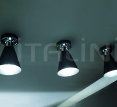Потолочный светильник D66 Kone фабрика Fabbian