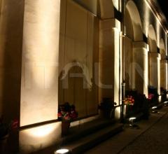 Напольный светильник D57 Beluga Alu фабрика Fabbian