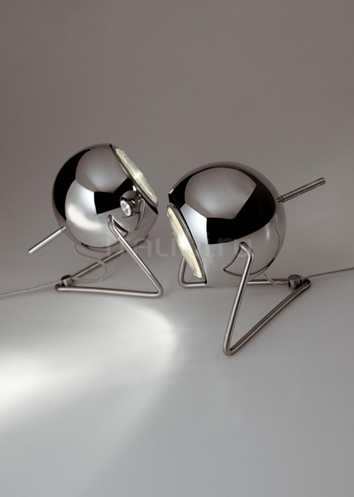 Настольный светильник D57 Beluga Steel Fabbian